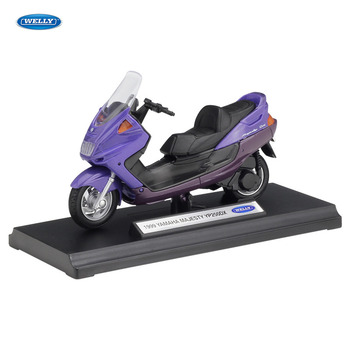WELLY 1:18    Yamaha YP240DX     Diecast Alloy Motorcycle Model Toy For Children Birthday Gift Toys Collection welly 12154p велли модель мотоцикла 1 18 motorcycle yamaha 2001 yzf1000r thunderace