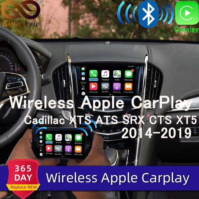 Sinairyu Wireless Apple Carplay For Cadillac XTS ATS SRX CTS XT5 2014 2019  Android Auto Apple Mirror iOS Wifi Car Play Airplay    - AliExpress