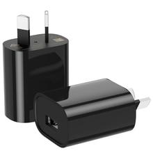 10pcs יחיד interfae אוסטרליה תקע 5 V 1A USB יציאת קיר מטען 5 וולט 1Amp AC DC כוח מתאם ממיר עבור iphone סמסונג