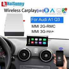 Para audi a1 q3 mmi sem fio carplay decodificador suporte auto multimídia câmera de navegação reversa 2011 2012 2014 2015 2016 2017 2018