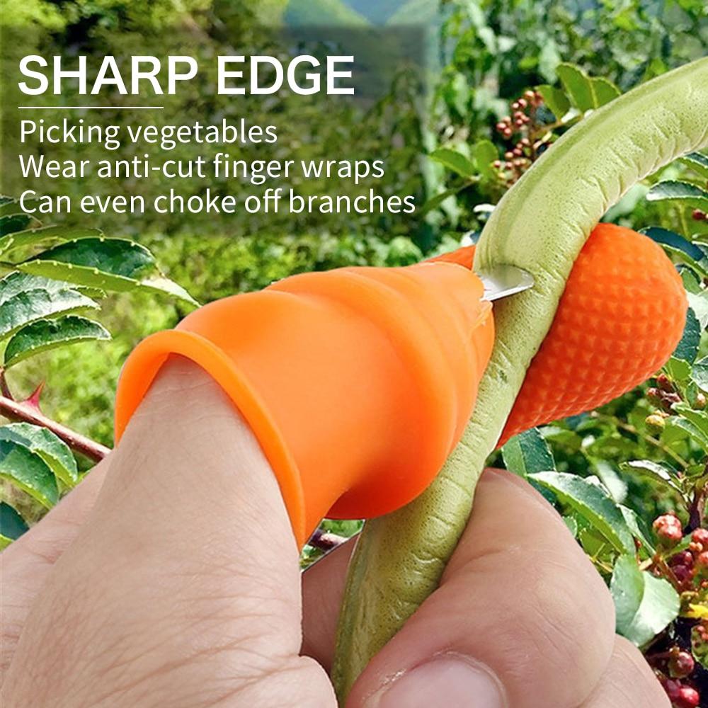 Резак для большого пальца, сепаратор, инструменты для захвата пальцев, устройство для сбора урожая сада, сбора урожая, растений, фруктов, овощей, большой палец, Cutte|Защита для пальцев|   | АлиЭкспресс