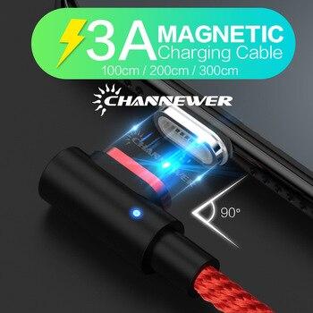 STONEGO 90 stopni kabel magnetyczny usb c Micro rodzaj usb C kabel szybkiego ładowania L-linii Micro rodzaj usb C magnetyczna ładowarka kąt prosty