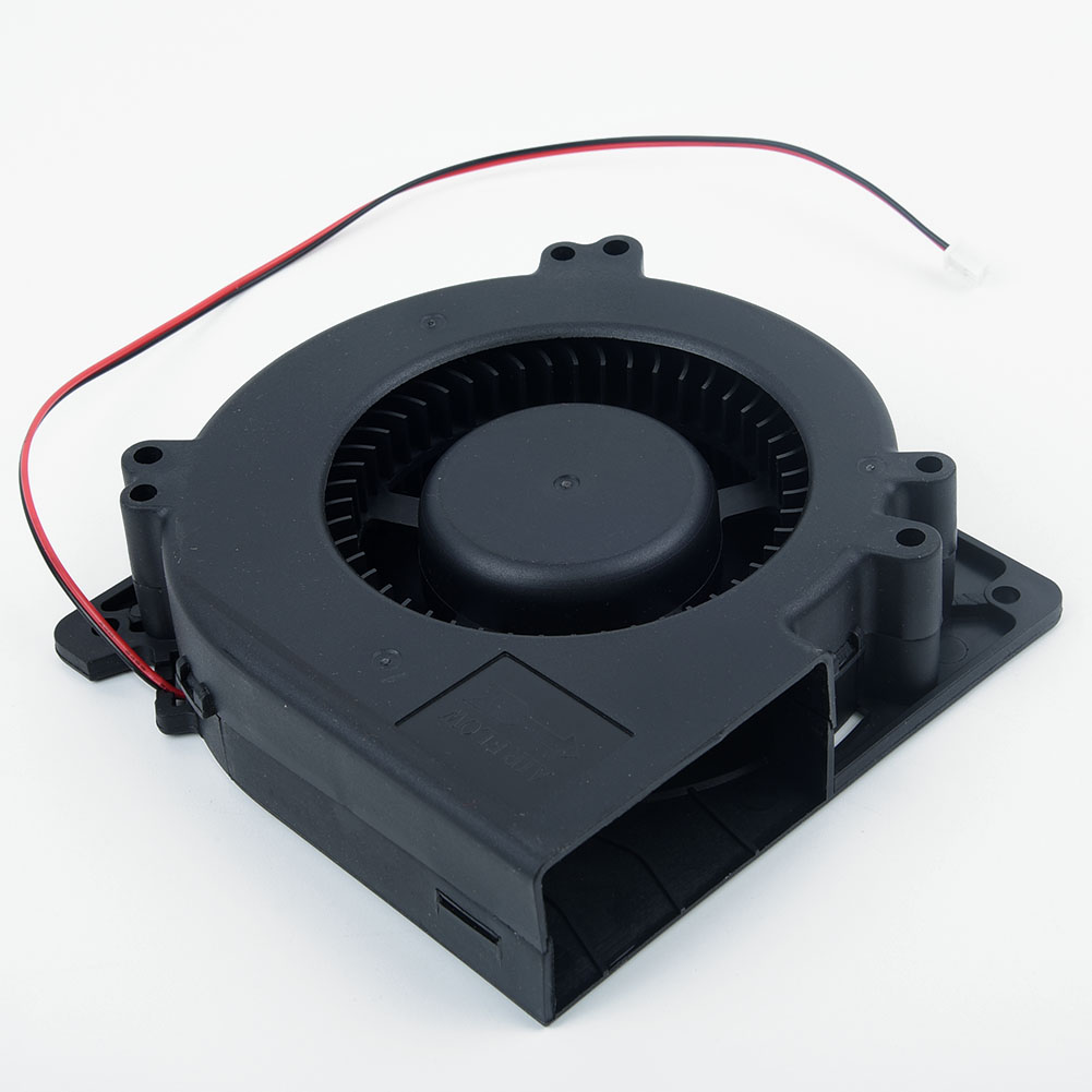 DC Brushless Blower Cooling Fan 12V 120*120*32mm 12032S Big Airflow Brushless DC Fan Sleeve 30cm Cable 2Pin-XH2.54 Connector