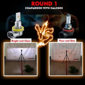 Image 5 - CNSUNNYLIGHT CANBUS LED Car H11/H8 9005 9006 Headlight Bulbs No Error 2400Lm 24W/pair 6000K White HB3 HB4 H9 H16jp Auto Headlamp