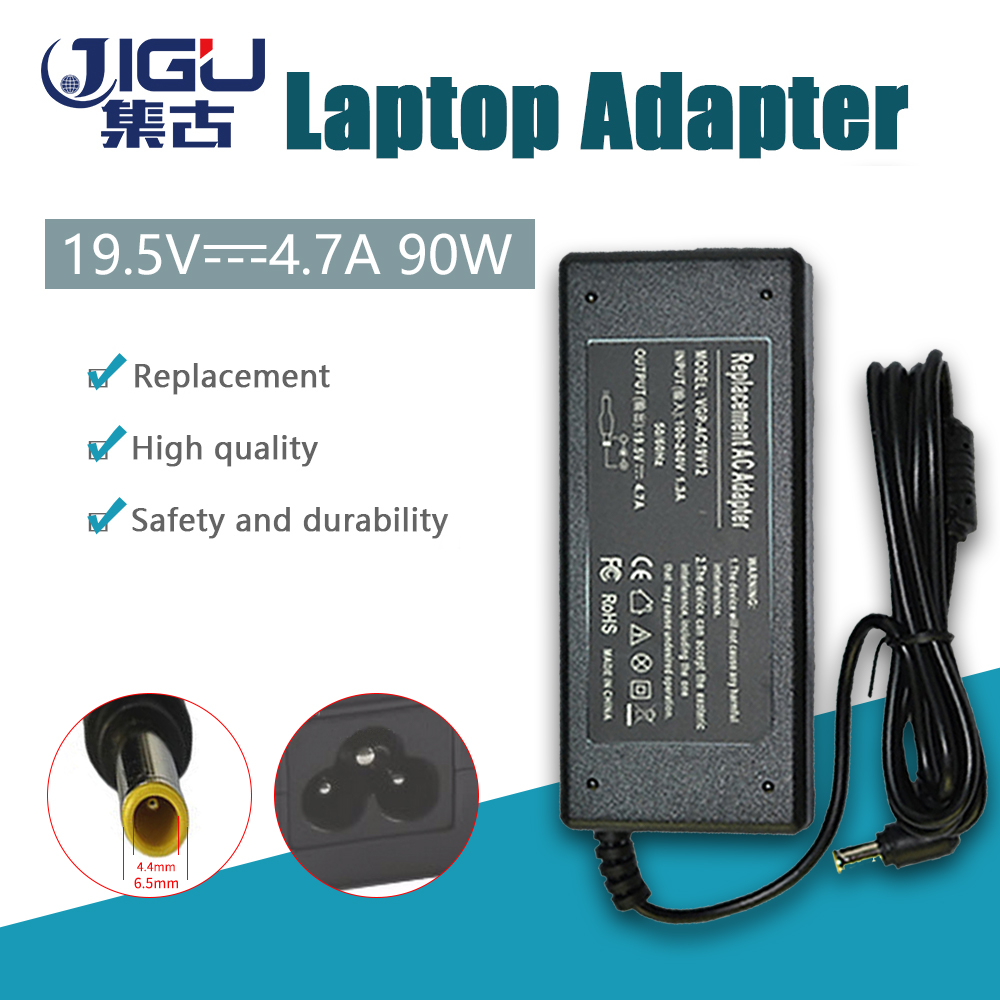 19.5V 4.7A 6.5*4.4MM 90W Replacement For SONY Laptop AC Charger Power Adapter Input 100-240V