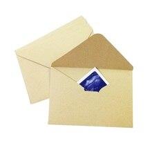 10pcs/lot Vintage Kraft Envelope Retro Kraft Paper Envelopes Gift Card Office Stationery For Invitations цена