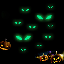 Fluorescent Sticker Glowing In The Dark Wall Sticker Halloween Christmas Decoration For Home Kid Decals Luminous Home Ornaments home decorative london twin bridge night glowing sticker luminous decals for couples room