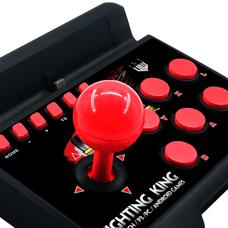 4 in 1 Wired Console Retro Arcade Joystick For Nintendo Switch Controller Street Fighting Stick For