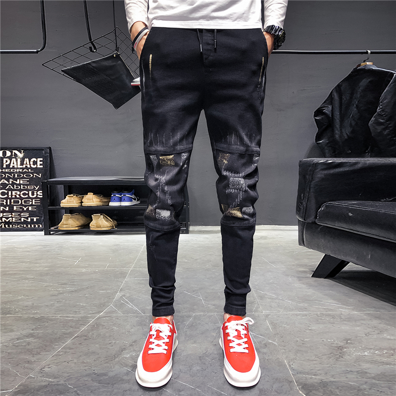 Jeans Men's 2019 New Casual Pants Trend