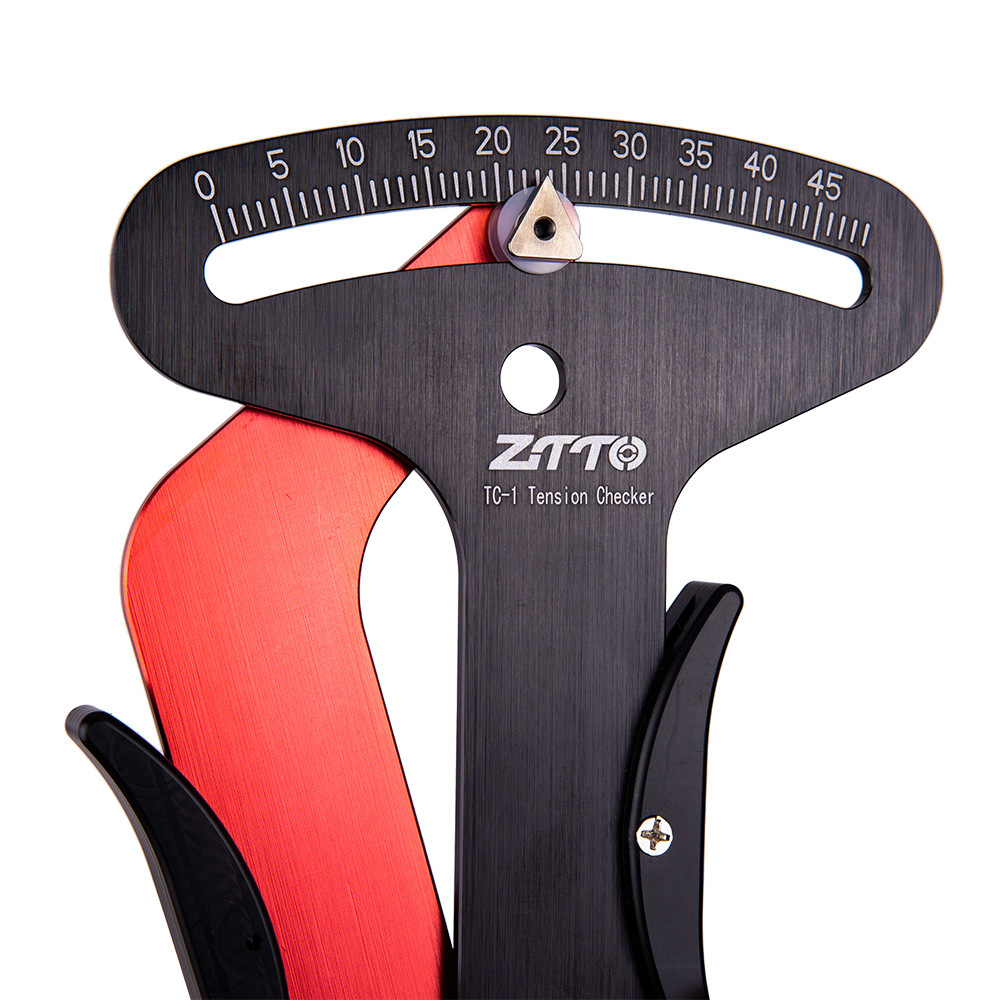 ZTTO Bicycle Spoke Tension Meter Wheel Spokes Checker Reliable Indicator Accurate Compete Bicycle Indicator Tool image