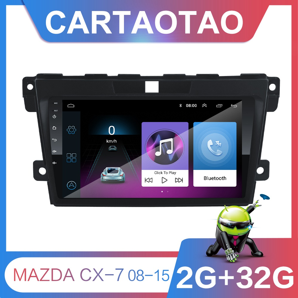 Dvd-Player Car-Radio Navigation-Wifi CX7 2din Android 2008 2009 32G MAZDA for GPS 9-GO