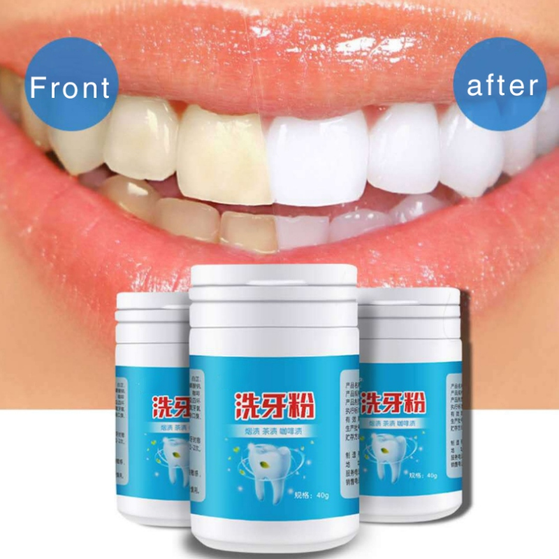Tooth Washing Powder Remove Yellow Teeth Cigarette Tooth Tooth Stains Teeth Whitening Powder New Arrivals