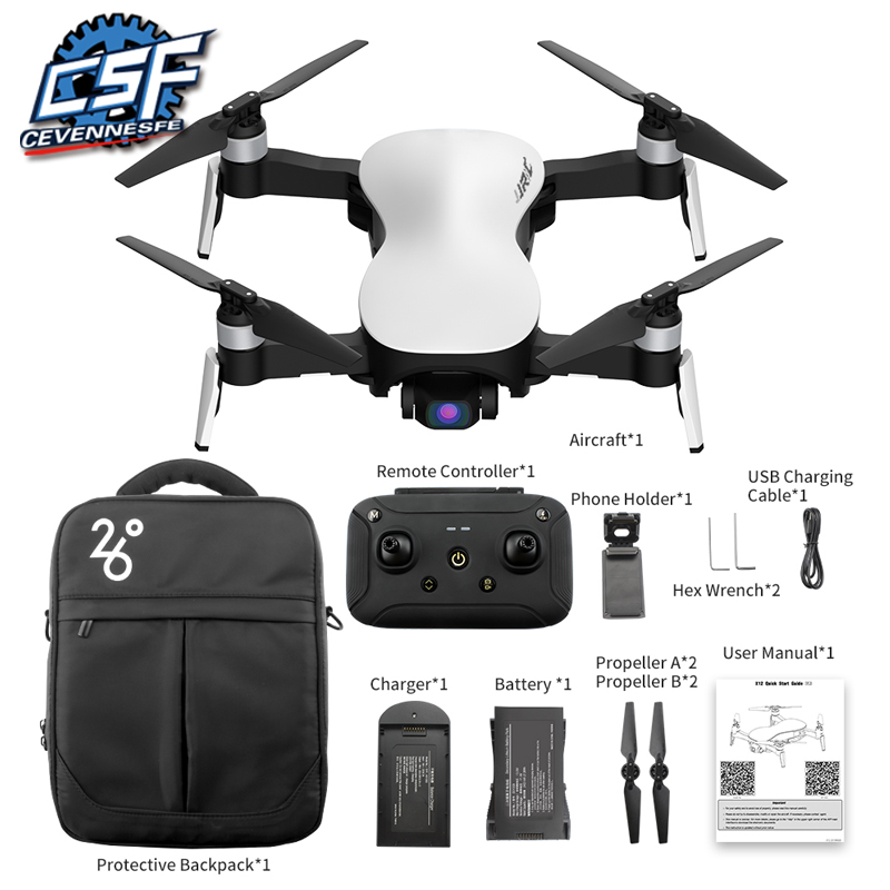2020 X12 GPS Drone With WiFi FPV 4K HD Camera Brushless Motor Foldable Quadcopter Anti-shake 3 Axis Gimble Drones Vs H117s SG906