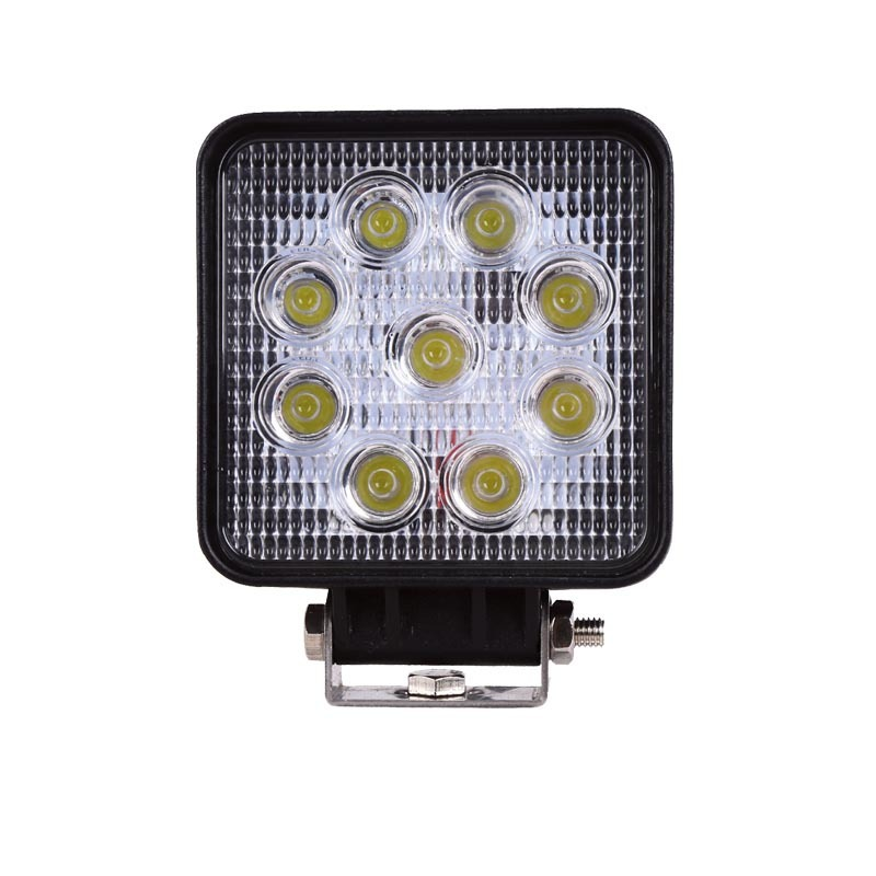 Square Truck Factory Outlet 27 W80v Forklift Headlamps Lighting LED Work Light Forklift Auxiliary Lighting