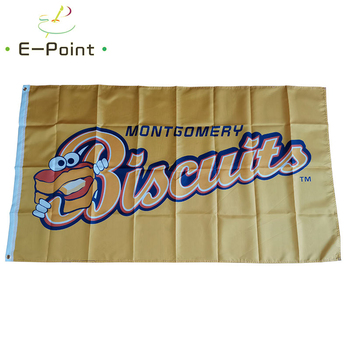 Montgomery Biscuits Flag 3*5ft (90*150cm) Big Size Full Size Christmas Decorations for Home Flag Banner Gifts image
