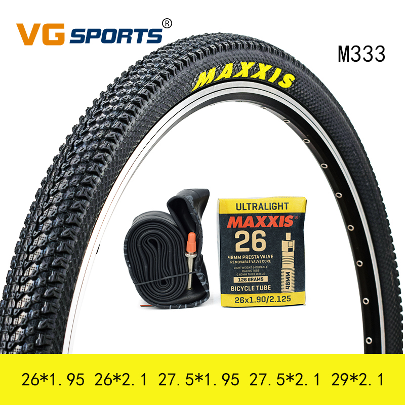 Bicycle Bike Air Valve Tire Tyre Inner Rubber Tube 26/'/' US Nozzle 26*1.95//2.125