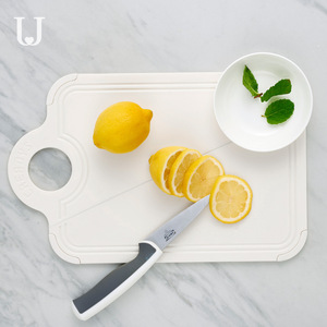 Image 4 - Youpin Jordan & Judy Foldable 커팅 보드 주방 커팅 보드 가정용 미니 과일 커팅 보드 식품 학년 PP + 실리콘