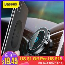 Baseus Magnetische Wireless Car Charger Houder Voor Iphone X 8 8Plus Magneet Auto Telefoon Houder Draadloze Oplader Voor Samsung s9 S8 S7