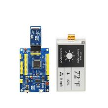 3.71 polegadas tri-color e-paper display gdew0371w7 com placa de conector comprar eink display