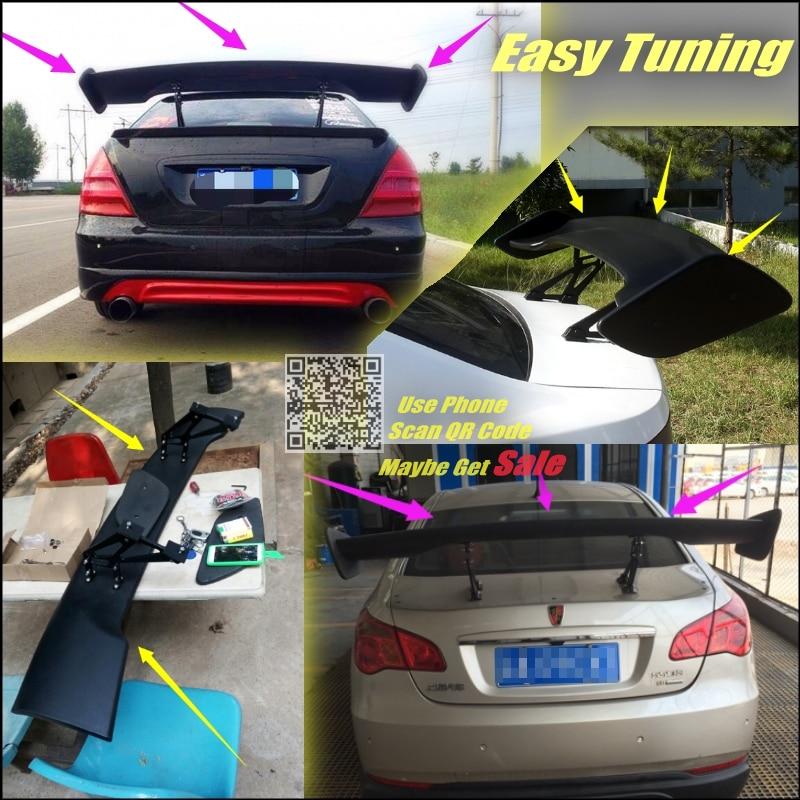 New Cool Rear Mini Spoiler Wing Tail Model For Subaru BRZ Impreza Legacy STI WRX