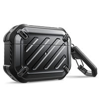 SUPCASE UB Pro Designed For Airpods Pro Case 2019 Full-Body Rugged Protective Cover with Carabiner For Apple Airpods Pro (2019)