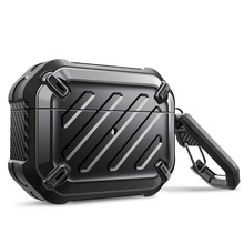 SUPCASE UB Pro Designed For Airpods Pro Case 2019 Full Body Rugged Protective Cover with Carabiner For Apple Airpods Pro (2019) 2019