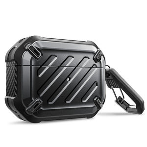 Image 1 - SUPCASE UB Pro Designed For Airpods Pro Case 2019 Full Body Rugged Protective Cover with Carabiner For Apple Airpods Pro (2019)