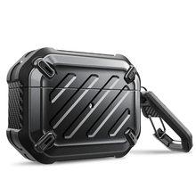Supcase Ub Pro Ontworpen Voor Airpods Pro Case 2019 Full Body Robuuste Beschermende Cover Met Karabijnhaak Voor Apple Airpods pro (2019)
