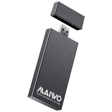 MAIWO K1642S USB 3.0 to mSATA SSD Box External Case Aluminum Alloy 5Gbps Portable Solid-State Drive Mobile Enclosure Case Hot