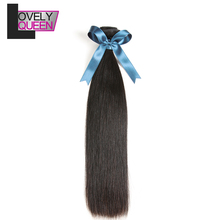 Lovely Queen Indian Straight Hair Bundles Human Straight Hai