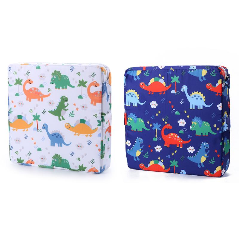 Childen Booster Seats Cartoon Baby Chair Increasing Baby Furniture Cushion Removable Kids Dining Booster Pad