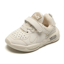 DIMI 2020 Spring Child Baby Shoes PU Leather Boy Girl Toddle