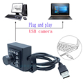 IR LEDS Nachtzicht cmos OV7725 Web CCTV Video mini doos usb endoscoop camera