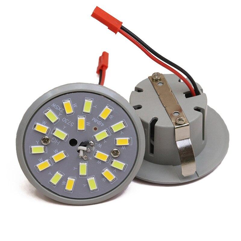 Led downlight lâmpada 5 w 220 v integrado copo de luz led ampola spotlight duplo teto redondo recesso guarda-chuva lâmpada led milho