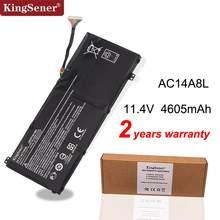 KingSener AC14A8L batería del ordenador portátil para Acer Aspire VN7-571 VN7-571G VN7-591 VN7-591G VN7-791G MS2391 KT.0030G 001 11,4 V 4605mAh
