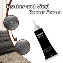 Высокое качество черная кожа и винил Ремонтный комплект-мебель, диван, автокресла, диван, куртка обувь очиститель кожи ремонт краски# R20