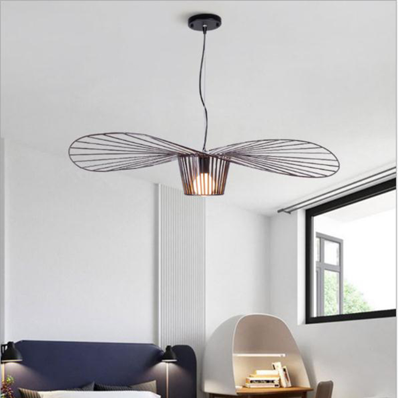 Image 3 - black white Ceiling Lights for living room bedroom restaurant modern ceiling lamp industrial lamparas de techo fixtures lighting-in Ceiling Lights from Lights & Lighting
