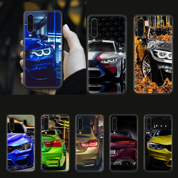 Blue Red Car for Bmw Phone Case cover hull For SamSung Galaxy A 3 5 7 10 20 30 40 50 51 70 71 e s plus black cover tpu prime image