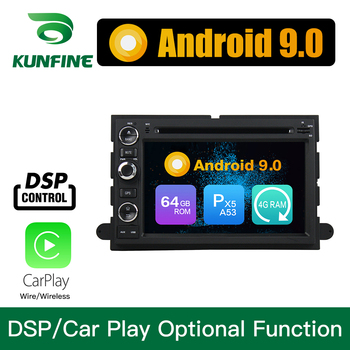 Android 9.0 Octa Core 4GB RAM 64GB ROM Car DVD GPS Multimedia Player Car Stereo For Ford Fusion Explorer Edge F150 Focus