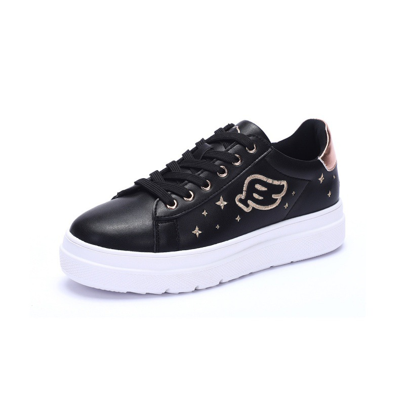 B. Duck Small Yellow Duck 2019 Spring And Summer New Style Casual Shoes Thick Bottomed Versatile Women's Low Top Sneakers