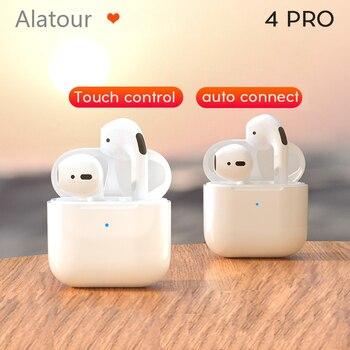 pro4 Bluetooth Earphones Mini Sports Headset Waterproof Earbuds Music Earpieces For Huawei Iphone Xiaomi Wireless Headphones 1