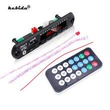 Kebidu 5 в 12 В MP3 WMA декодер плата аудио модуль USB TF радио Bluetooth5.0 беспроводной музыкальный MP3 плеер с дистанционным управлением