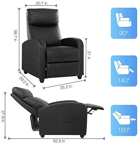 Single Sofa Home Theater Seating Chair 6
