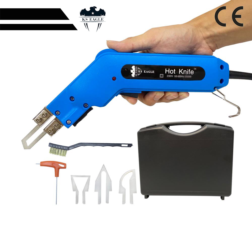 H08fbb57e838a4858bb4f6a22dba62873c - 220 v 100 w Hand Held Electric Hot Knife Heat Cutter Foam Thermal Cutting Tools Non-Woven Fabric Rope Curtain Heating Knife