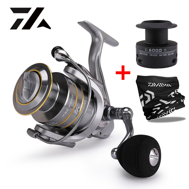 2019 New 14+1 BB Double Spool Fishing Reel 5.5:1 Gear Ratio High Speed Spinning Reel Carp Fishing Reels For Saltwater