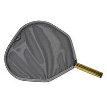Алюминиевая рама Чистящая сетка аксессуары прочный практичный бассейн Сверхмощный Профессиональный легкий лист грабли портативный