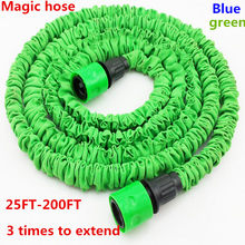 Magic Garden Hose Retractable Multi-Function Garden Watering Hose Reel 25FT-200FT [Without Sprayer]