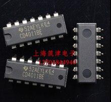 Xinyuan 10 pçs/lote CD4011BE DIP14 CD4011 4011BE DIP-14 DIP IC novo e original