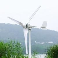 1000W Horizontal Wind Turbine Power Generator 24V/48V 3/5 Blades Start up Speed 2m/s Fit For Street Lamps