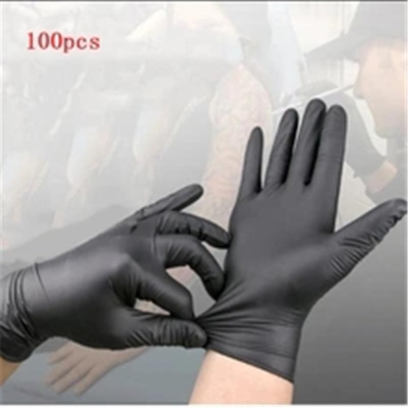 Vinyl Gloves 100PCS/Box Disposable Gloves Powder-free Industrial Food Safety Translucent Pvc Nitrile Gloves disposable gloves